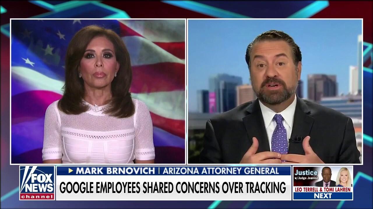 Mark Brnovich: Google is 'systematically' compiling data on Americans without ability to opt out