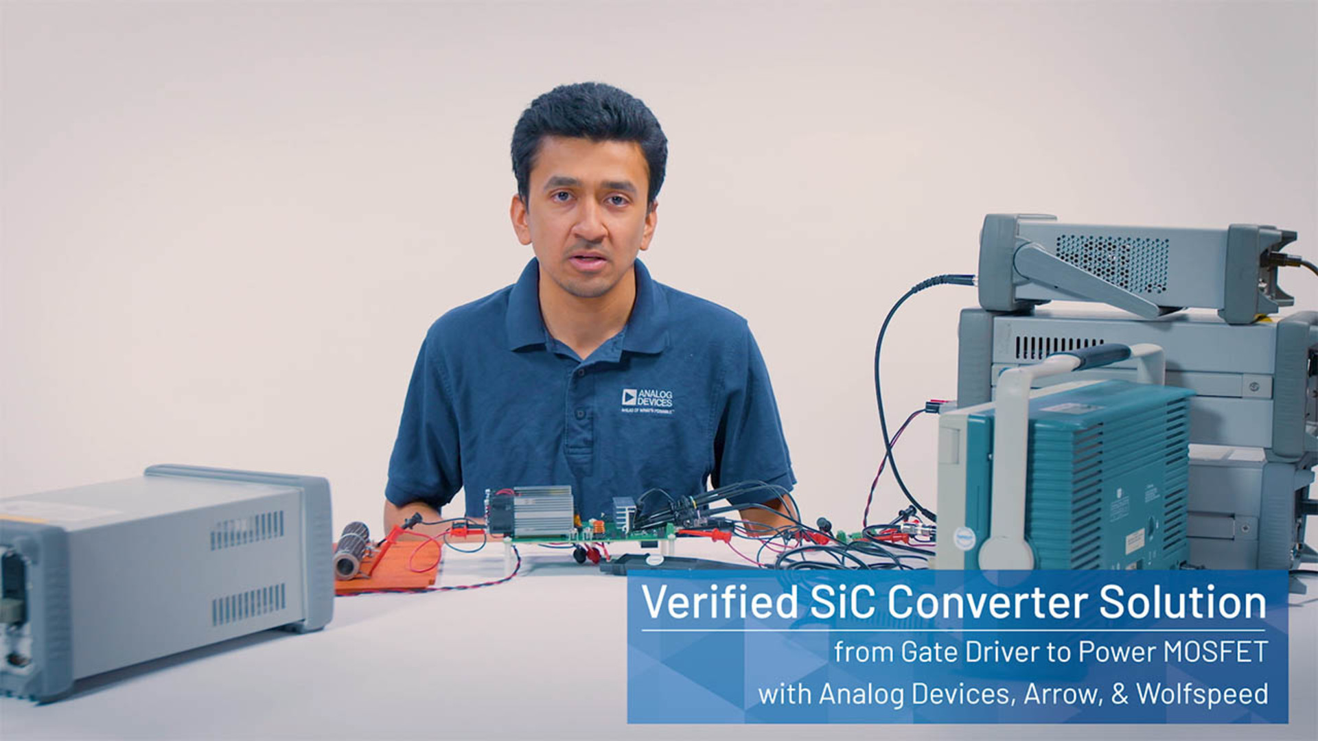 Verified SiC Converter Solution from Gate Driver to Power MOSFET