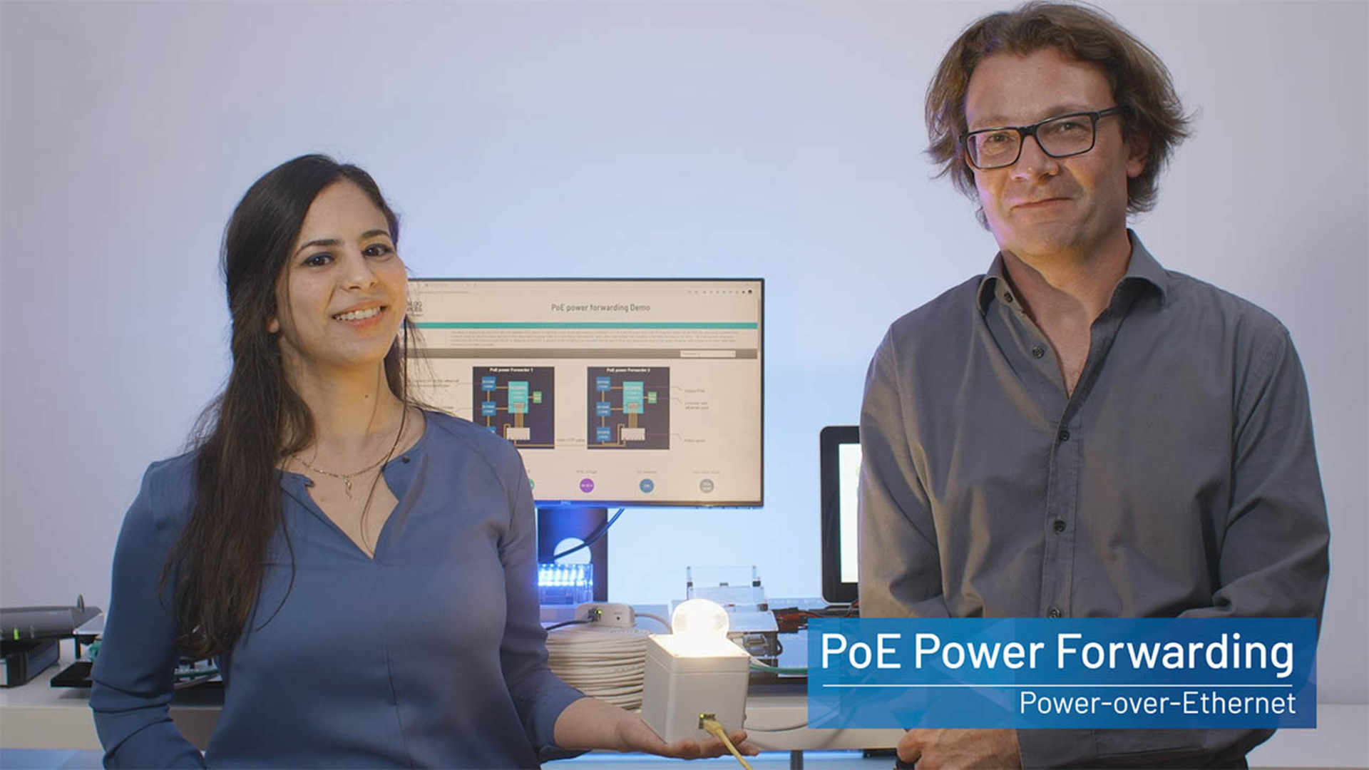 PoE Power Forwarding
