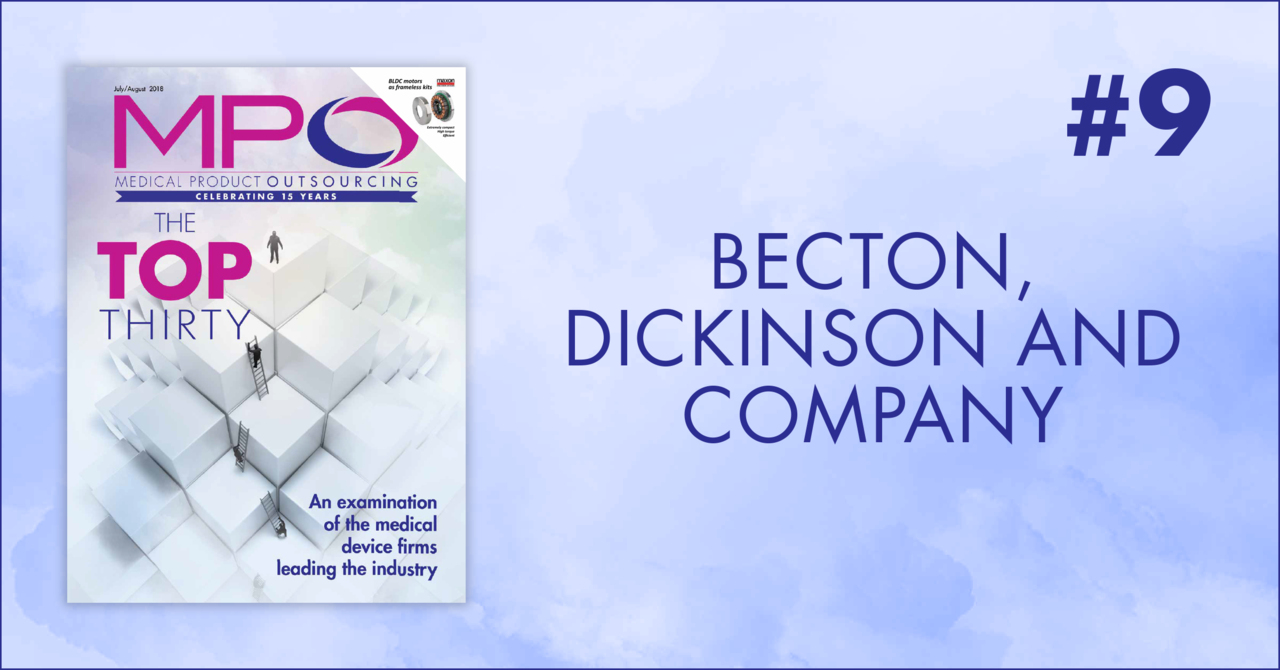9  Becton, Dickinson And Company - Medical Product Outsourcing
