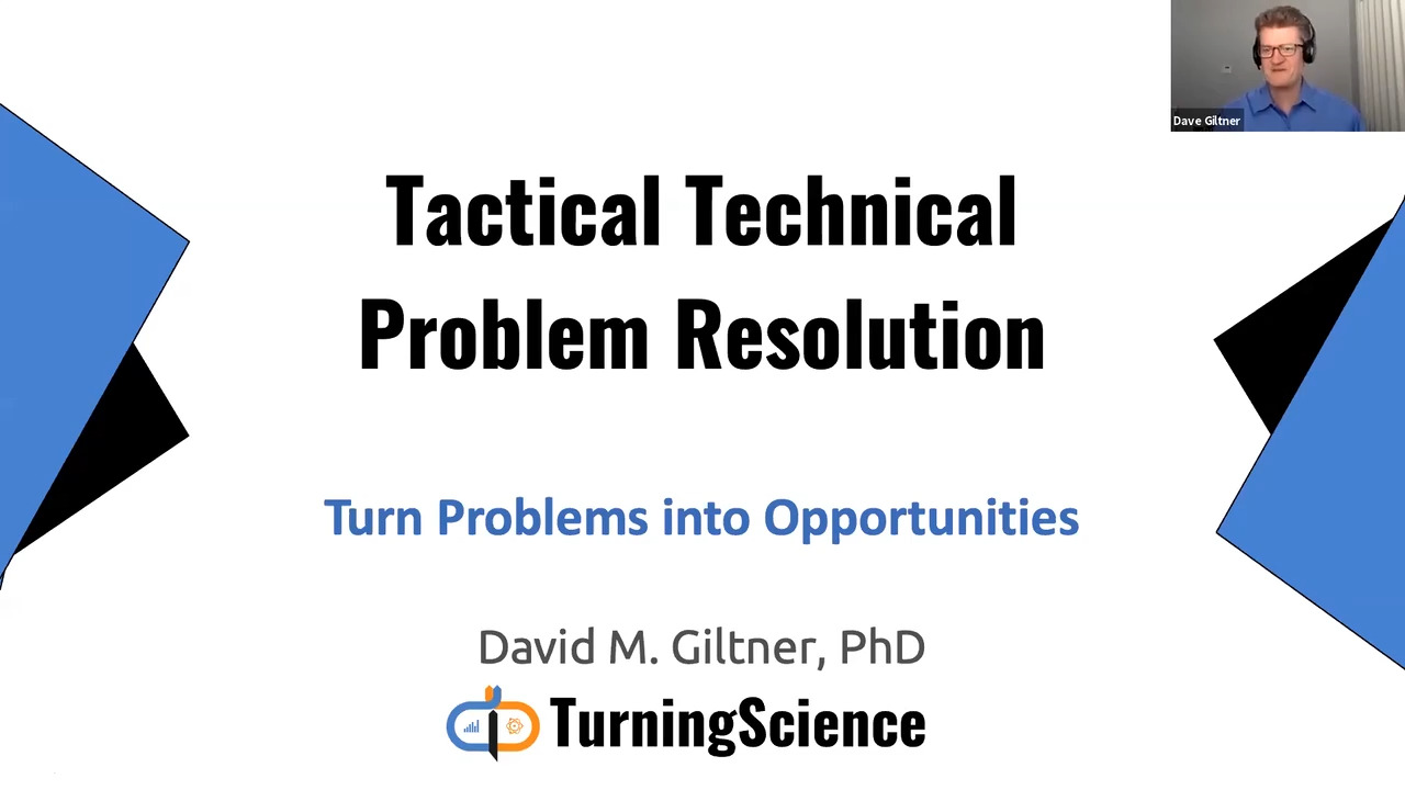 Tactical Technical Problem Resolution