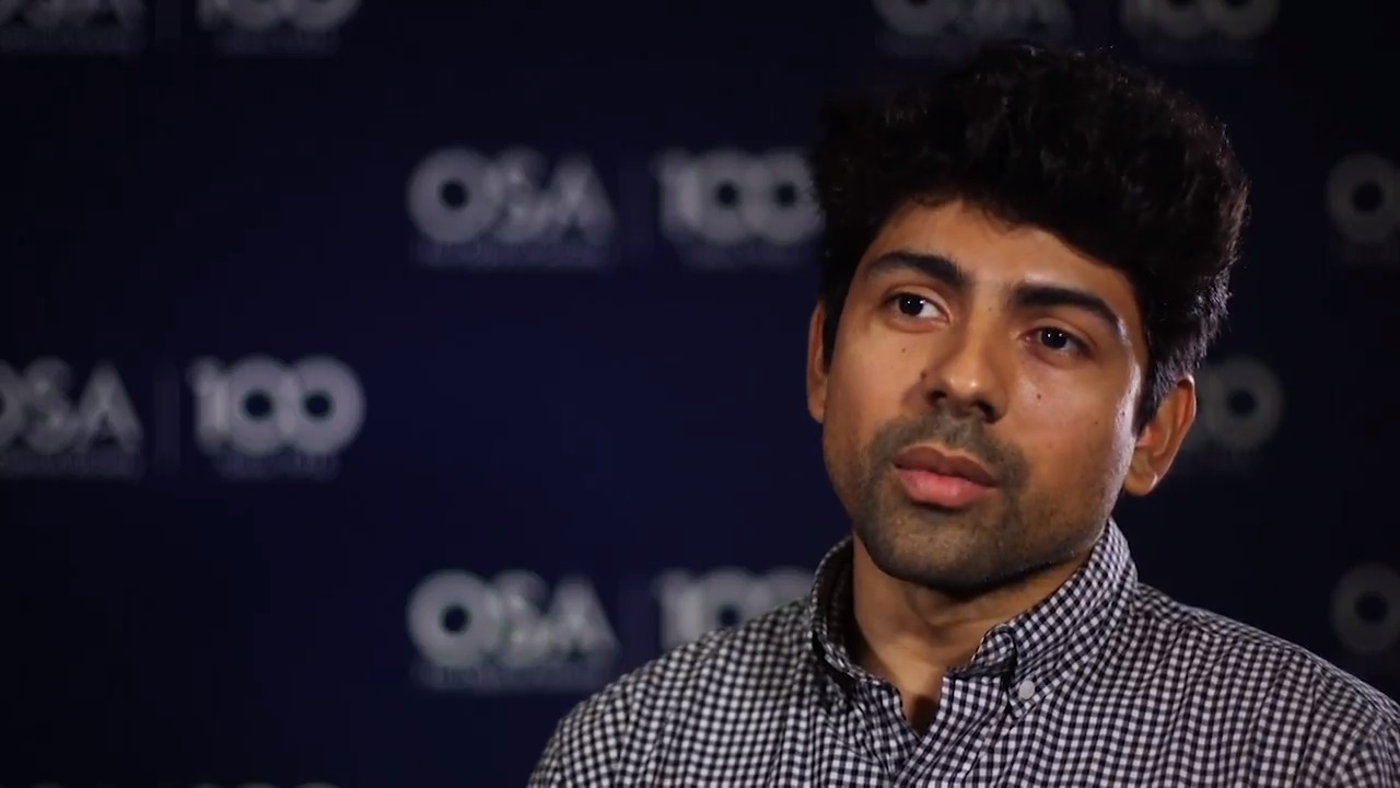 Carlos German Carreño Romano shares what he enjoys most about his work--OSA Stories