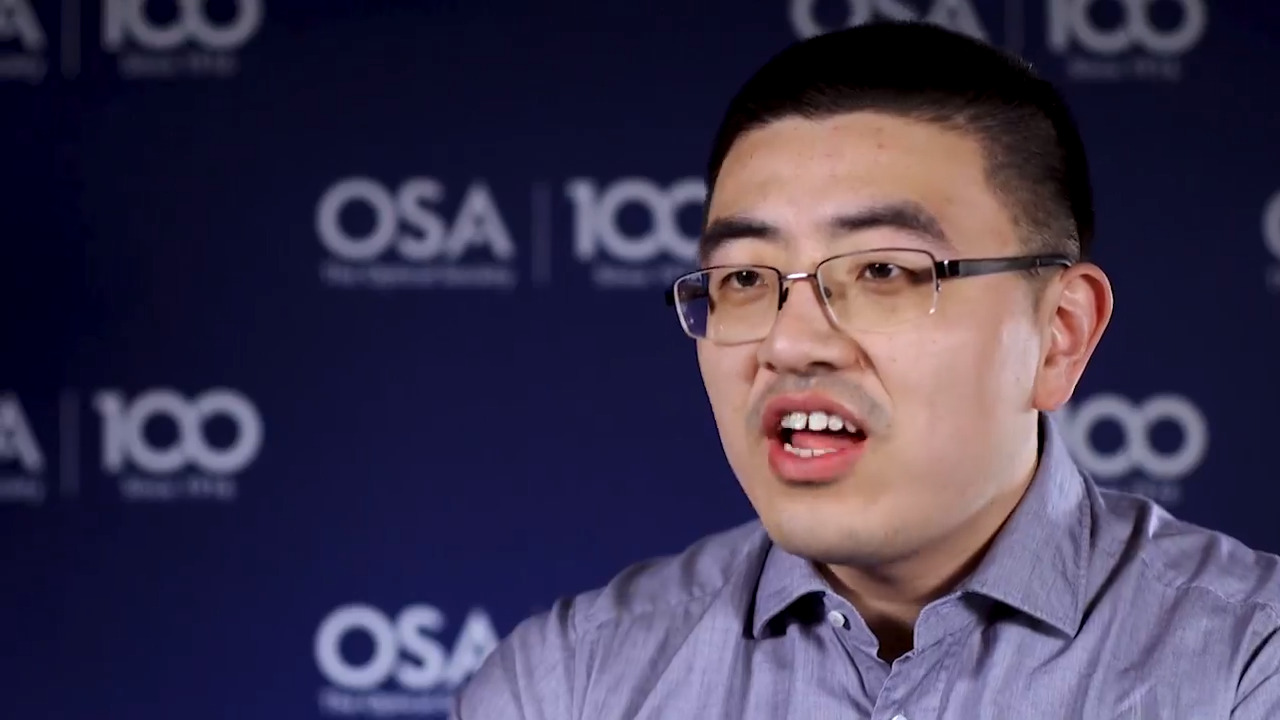 Haolan Zhao recalls how he came into optics--OSA Stories