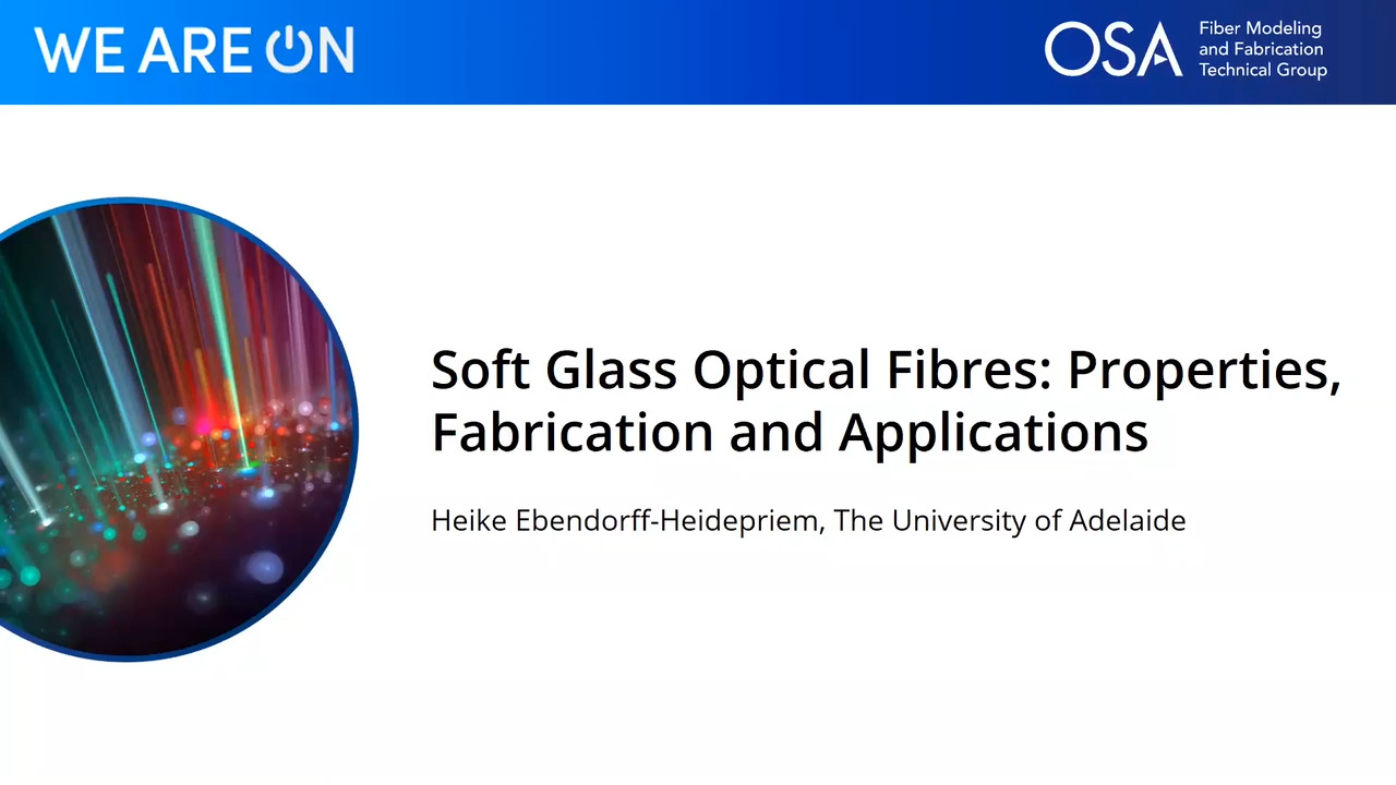 Soft Glass Optical Fibres: Properties, Fabrication and Applications