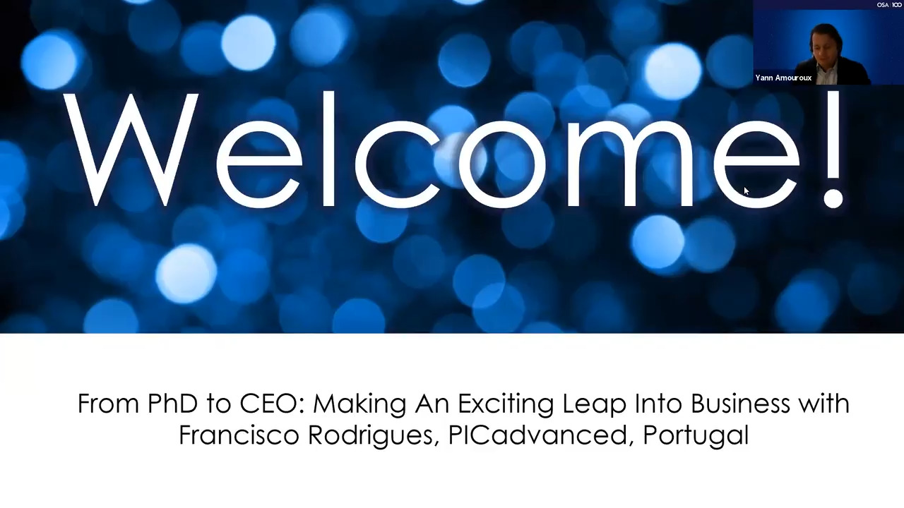 From PhD to CEO: Making the Exciting Leap into Business with Francisco Rodrigues