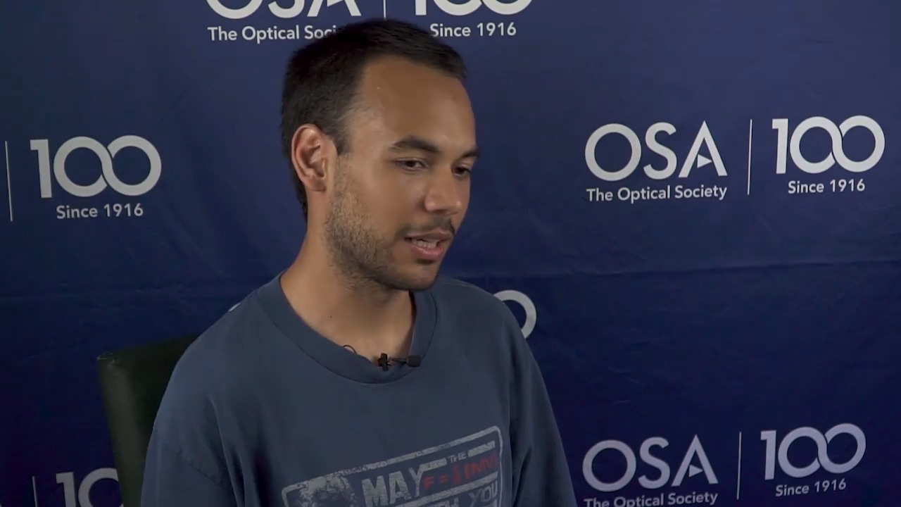 Marco Ferreira talks about restarting his university's student chapter--OSA Stories
