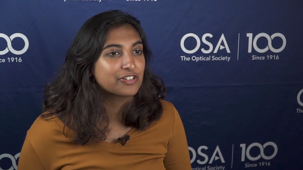 Anita Chandran shares why she wanted to attend the Siegman School--OSA Stories