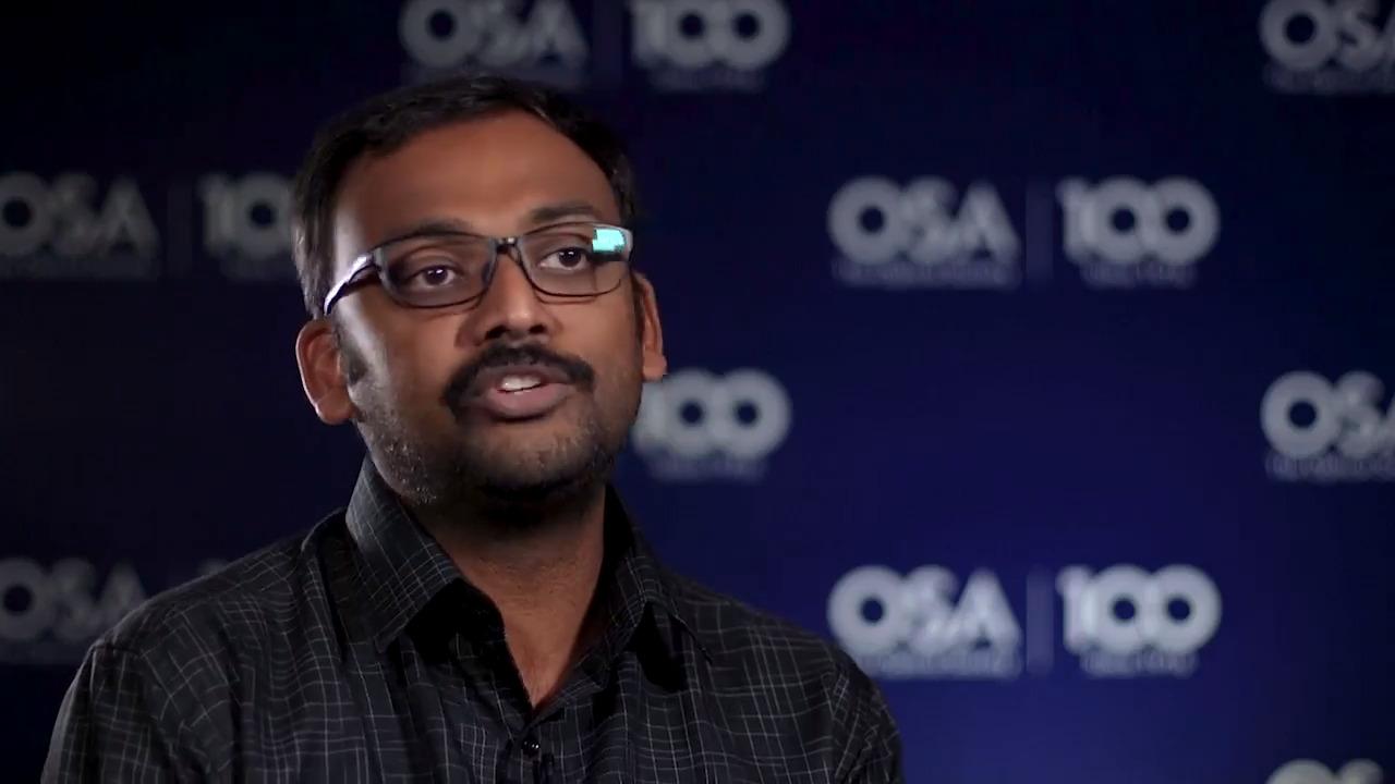 Jackin Boaz Jessie explains why he chose optics--OSA Stories
