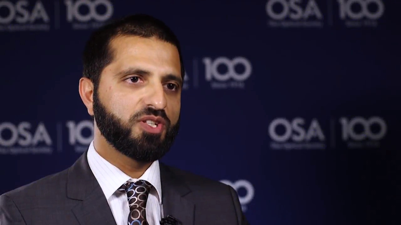 Aamir Farooq talks about the importance of collaboration--OSA Stories