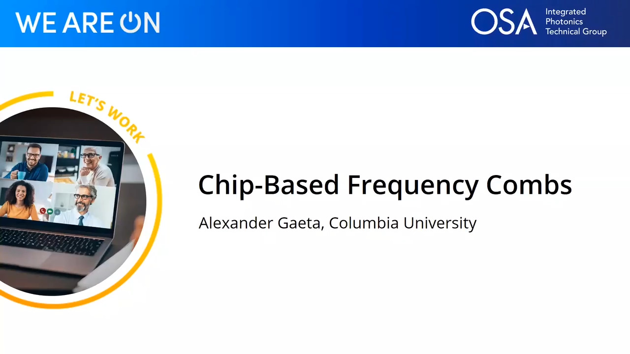 Chip-Based Frequency Combs