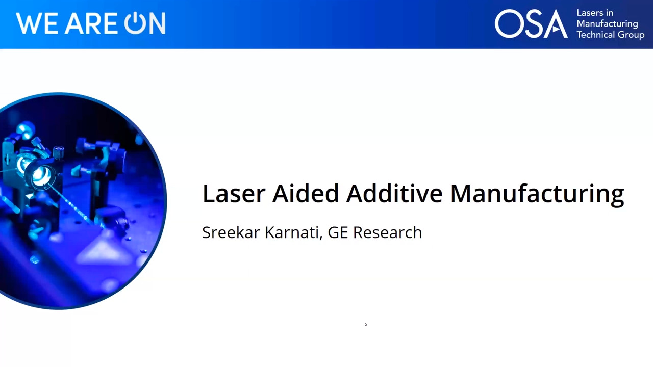 Laser Aided Additive Manufacturing