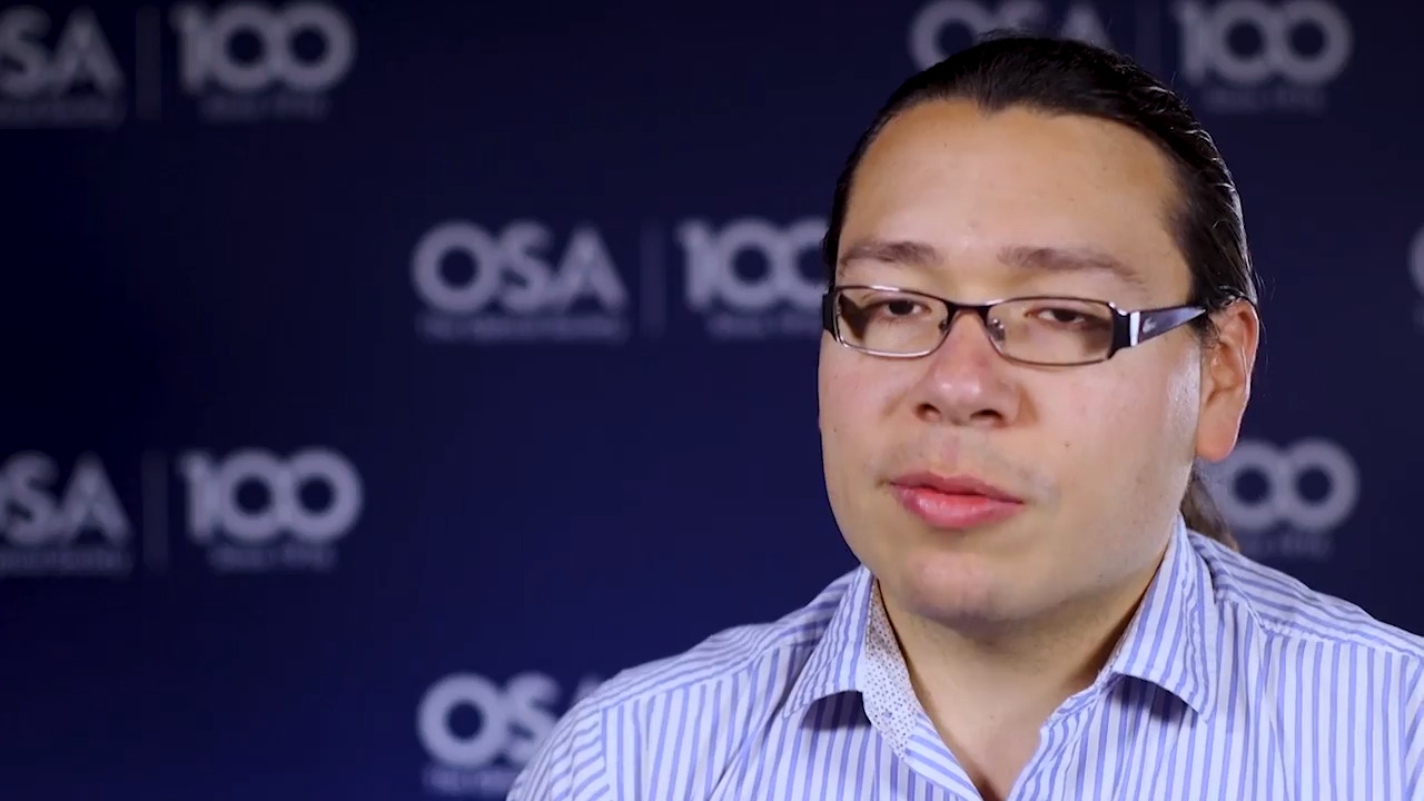 Alfonso Isaac Jaimes-Najera discusses his work in the theory of fundamental waves--OSA Stories
