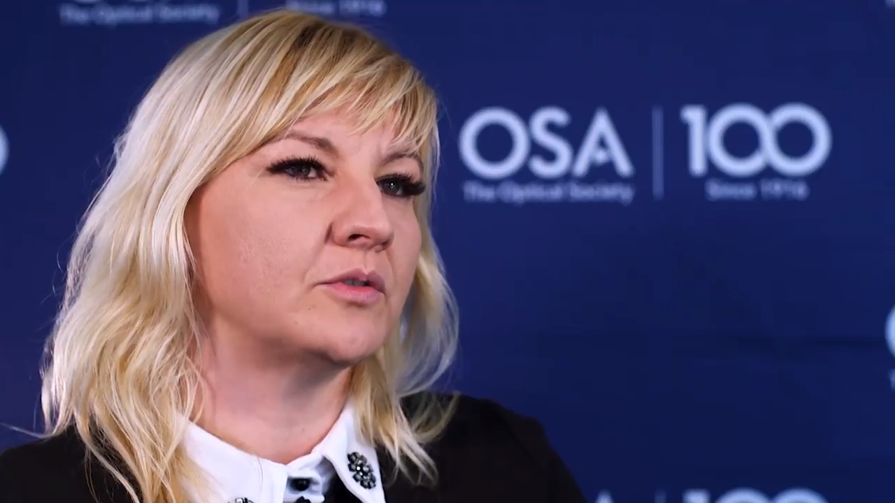 Jelena Pesic shares some of what she does at Nokia Bell Labs France--OSA Stories