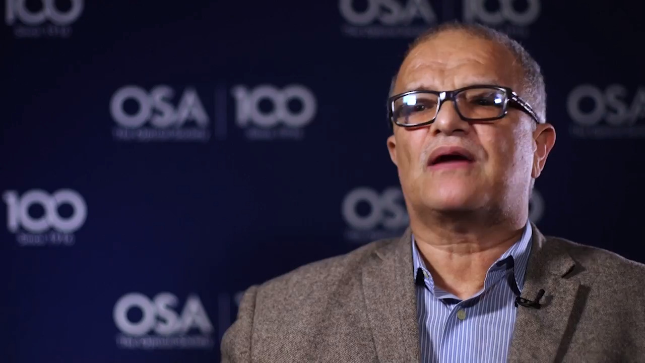 Aristides Marcano discusses his work--OSA Stories