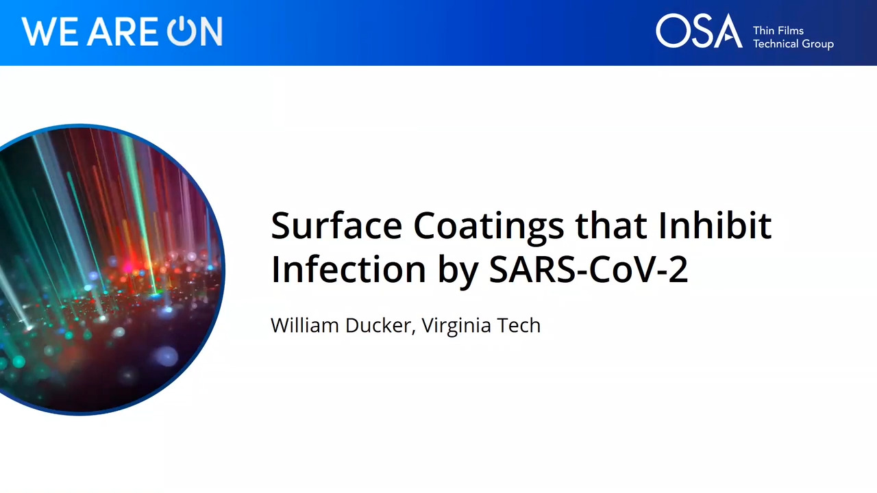 Surface Coatings that Inhibit Infection by SARS-CoV-2