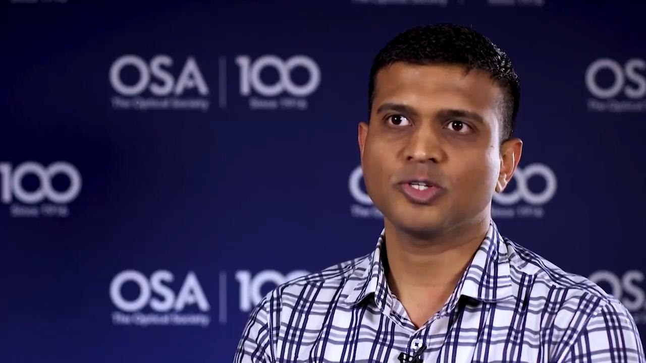 Mohiyuddin Kazi talks about being a student member of OSA--OSA Stories