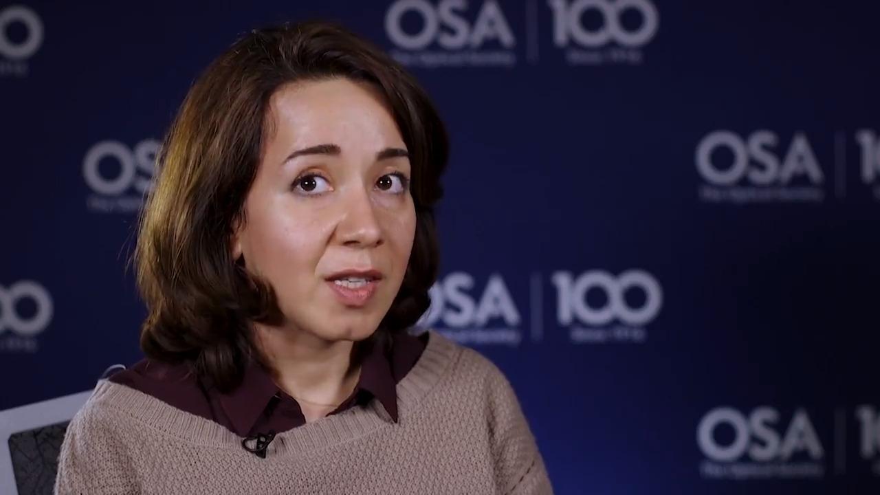 Fatemeh Alishahi shares why she became interested in optics--OSA Stories
