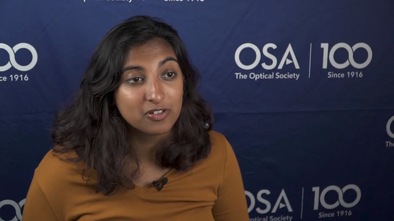 Anita Chandran describes her experience at the 2018 Siegman School--OSA Stories