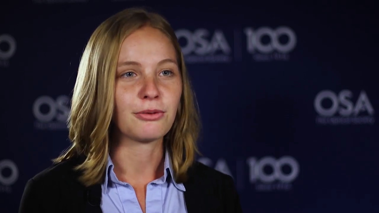 Rachel Sampson shares what she is most looking forward to--OSA Stories