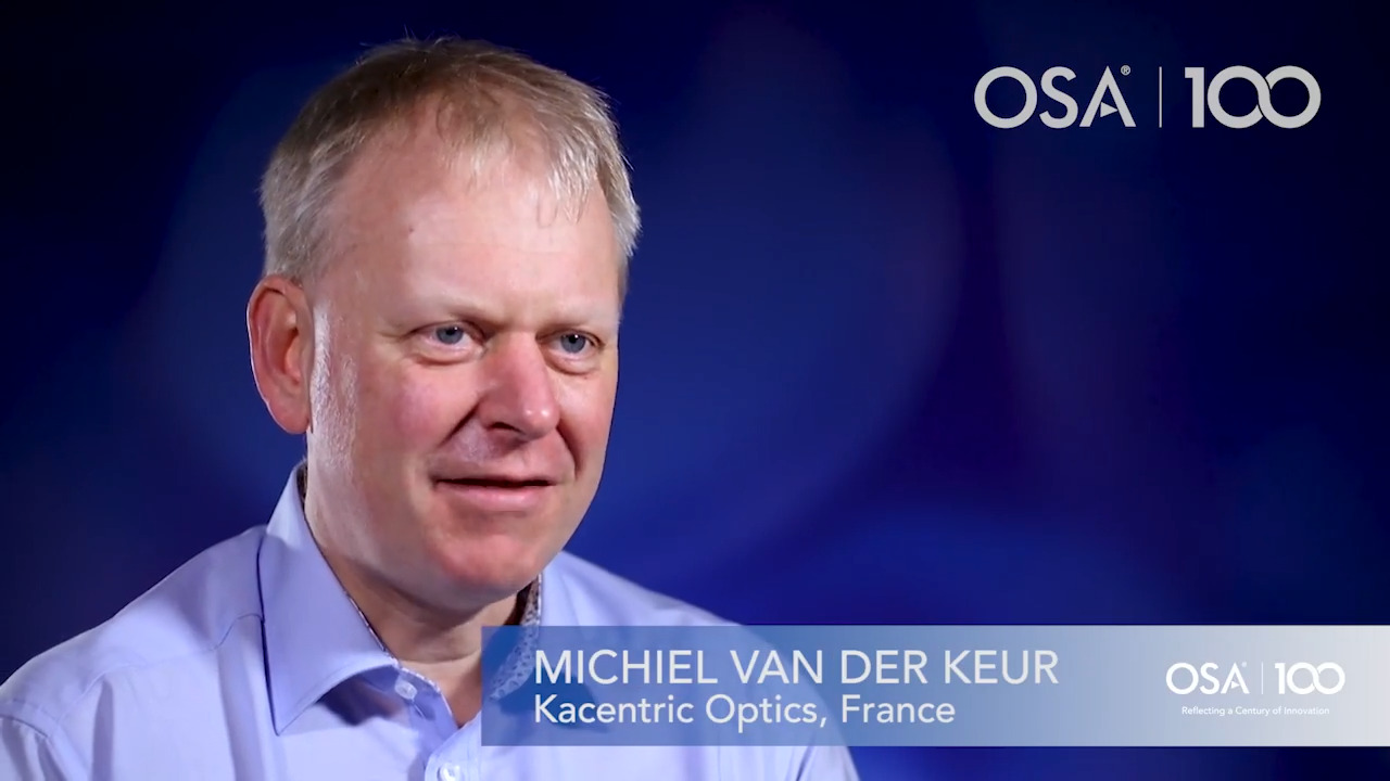 Michiel Van Der Keur had an early interest in electromagnetic waves--OSA Stories