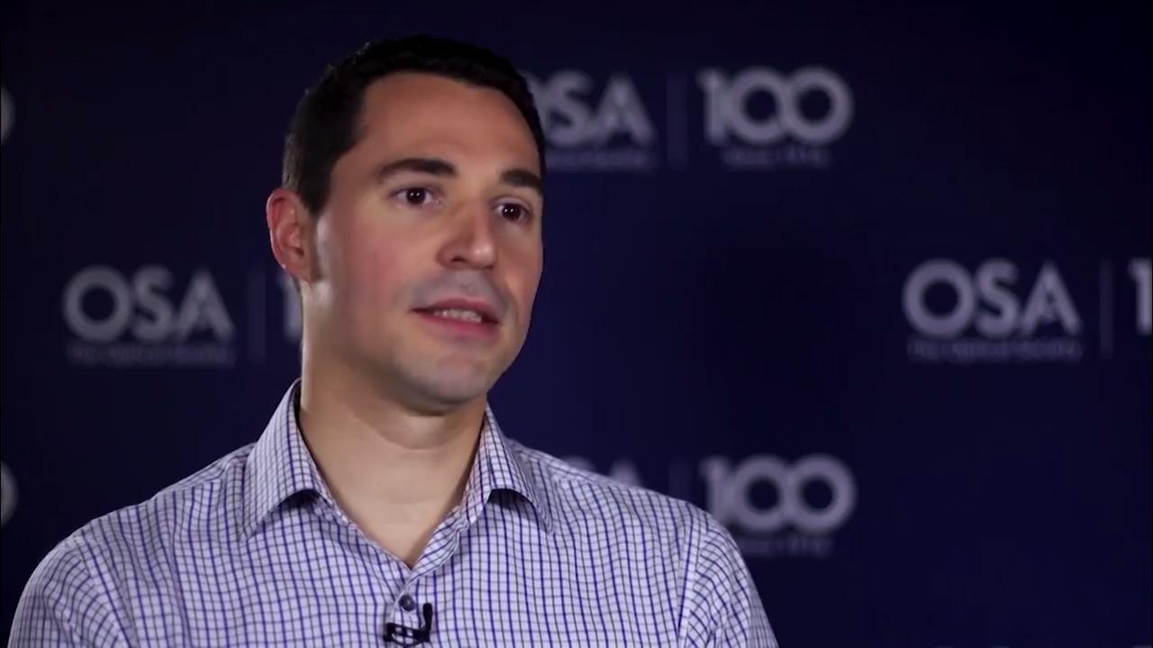 Fabien Sorin talks about OSA