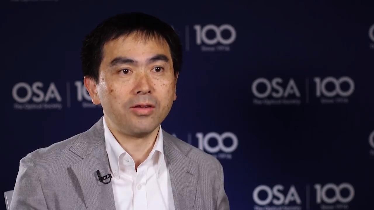 Akira Furusawa talks about the CLEO Conference--OSA Stories