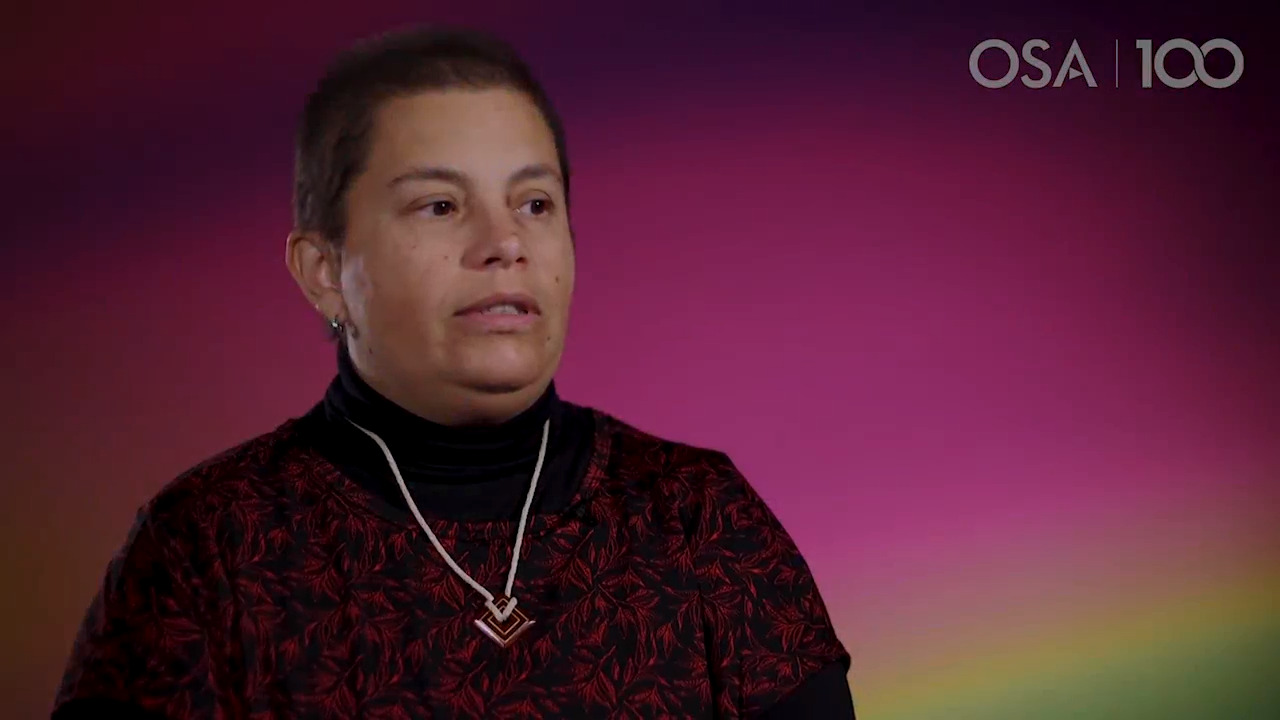 Adriana Tufaile talks about her current work--OSA Stories