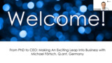 From PhD to CEO: Making the Exciting Leap into Business with Michael Förtsch