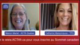 Entrevue (vidéo) avec Manon Martel de l'ACTA Québec