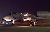 MQ-9 and A-10 Night Takeoffs