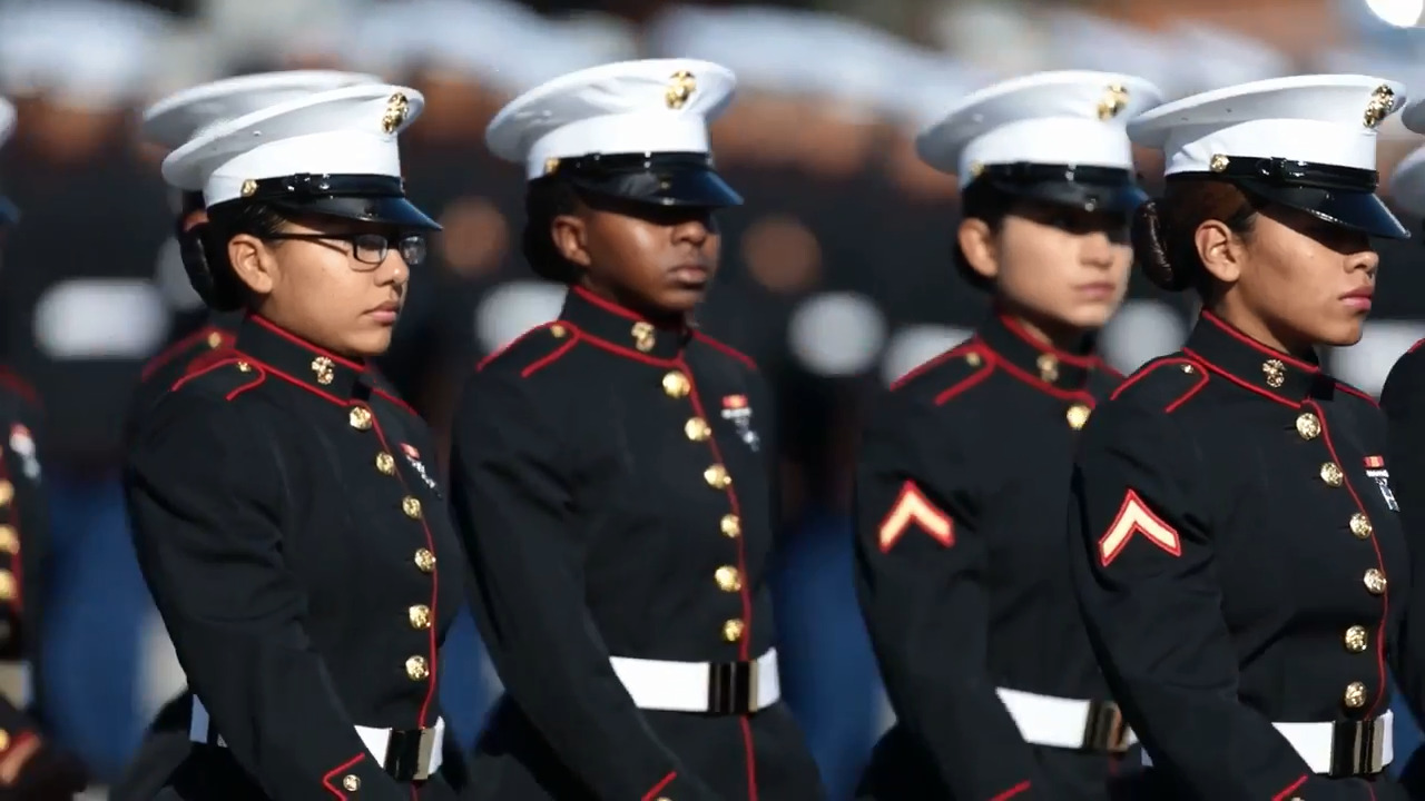 Female Marine Officer Dress Blues