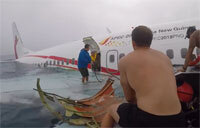 Sailors Assist After Plane Crash in Micronesia