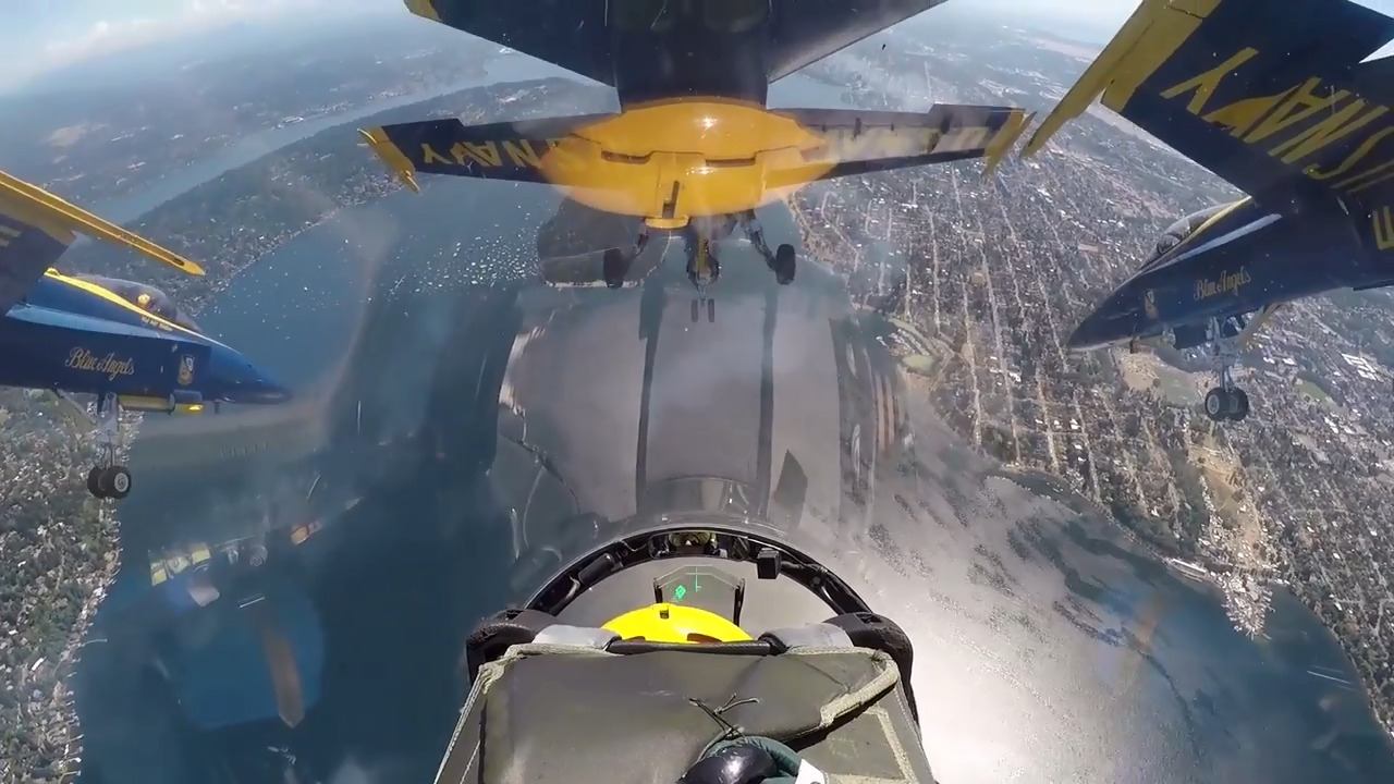 View From the Cockpit: Blue Angels Perform at SeaFair