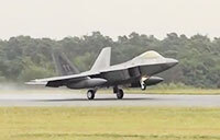 F-22 Raptors Arrive at Spangdahlem