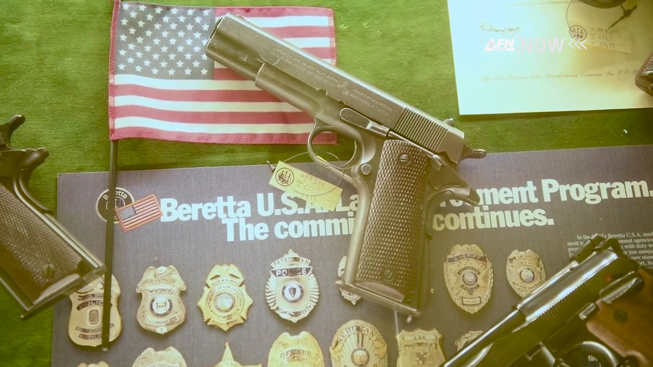 US Service Members Tour World's Oldest Gun Factory