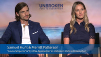 Stars Samuel Hunt and Merritt Patterson Talk About 'Unbroken: Path to Redemption'