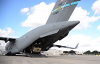 Dover AFB Offloads Equipment for Operation Faithful Patriot