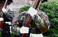 Drill Master of Marine Barracks Washington