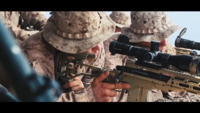 Marine Corps Snipers at Precision Fire Range