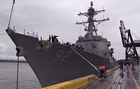 USS Momsen - Port of Alaska