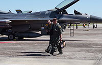 Shaw AFB F-16s Evacuate to Tyndall