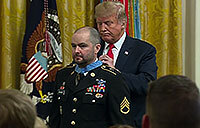 Trump's own Secret Service Agent Receives MoH