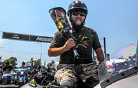 Eric Morante on Veterans Charity Ride