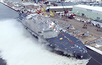 Future USS Indianapolis (LCS 17) Launch