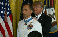 Trump Presents Medal of Honor