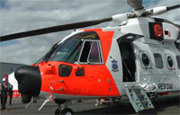 Making a Splash in Search-and-Rescue: Leonardo's AW101 Helicopter