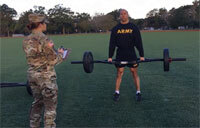 Pumping Iron: Army Shows Proper Weightlifting Form