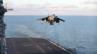 AV-8B Harrier Landing and Take Off