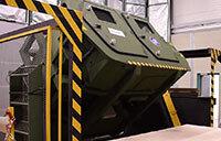 Humvee Roll Over Simulation Training