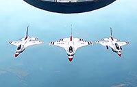 Frontiers in Flight: Thunderbirds